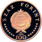 100 Forint - Ignác Semmelweis -  avers