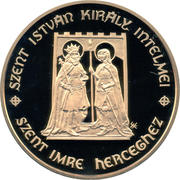 500000 Forint (St. Stephen and St. Emeric) -  avers