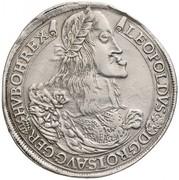 Thaler - Léopold Ier (1657-1705) -  avers
