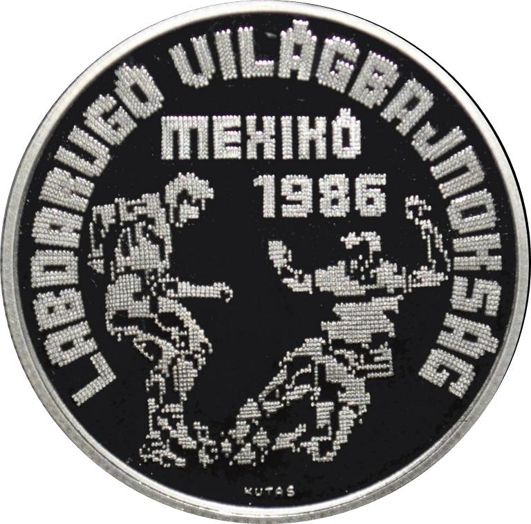 500 forint coupe du monde de football mexique 1986 hongrie numista - Coupe du monde mexique 1986 ...