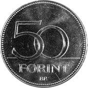 50 Forint (Championnat du monde de hockey sur glace 2018) -  revers