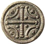 Denier - Étienne II (1116-1131) -  avers