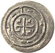 Denier - Étienne II (1116-1131) -  revers