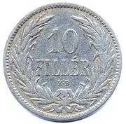 10 fillér - Franz Joseph I -  revers