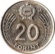20 forint Doszsa -  revers