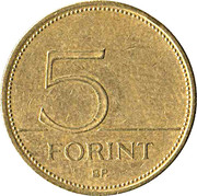 5 forint -  revers