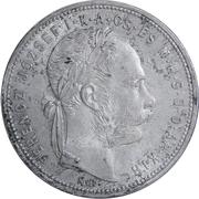 1 forint - Franz Joseph I -  avers