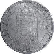 1 forint - Franz Joseph I -  revers