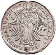 ½ thaler - Marie-Thérèse Ière (1740-1780) -  revers