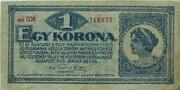 1 Korona – avers
