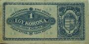 1 Korona – revers