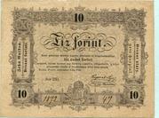 10 Forint (Kossuth bankó) – avers