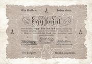 1 Forint (Kossuth bankó) – avers