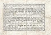 1 Forint (Kossuth bankó) – revers