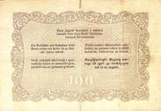 100 Forint (Kossuth bankó) – revers