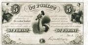 5 Forint (Philadelphia) – avers