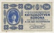250 Korona (Princess Zita) – avers