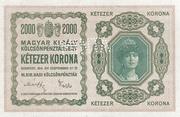 2000 Korona (Princess Zita) – avers