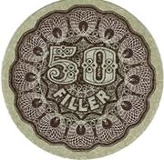 50 Fillér – avers