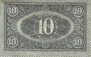 10 Korona – revers
