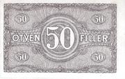 50 Fillér – revers