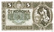 5 Korona – avers