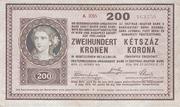 200 Korona – avers