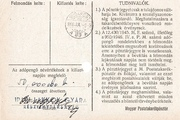 1 000 000 Adópengő (Tax note; 2nd edition) -  revers