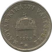 20 fillér - Franz Joseph I -  avers