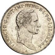 1 thaler - Franz II -  avers