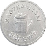 1 Liter - N. K. S. (Nagykanizsa) – revers
