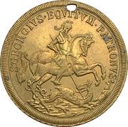 Jeton - S. Georgius Equitum Patronus / Intempestate Securitas (Kremnitz) -  avers