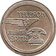 Jeton de téléphone - Telefon Erme (Bronze) – avers