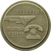 Jeton de téléphone - Telefon Erme (Cupronickel) – avers