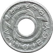 VÁLTÓJEGY BSZKRT. 1943 – avers