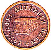 1 Forint Transport Token (FAU) – avers