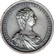 Memorial Student Medallion - Maria Theresia (Metallurgic Academy of Selmec) – avers
