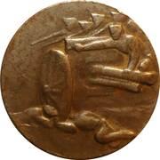 Médaille commémorative de la victoire de Kraznik – avers