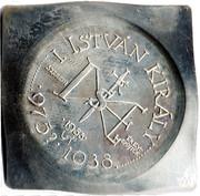 Medal - St. Stephen quadrangular coin – revers