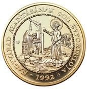 Medal - Szent László – revers