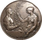 Médaille - Association nationale de gymnastique hongroise – avers