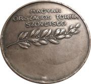 Médaille - Association nationale de gymnastique hongroise – revers