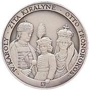 IV. Károly Hungarian Coronation Anniversary Medal – avers