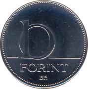 10 Forint -  revers
