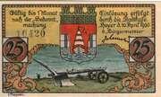 25 Pfennig (Hoyer) – avers