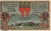 50 Pfennig (Hoyer) – avers