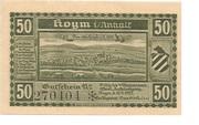 50 Pfennig (Hoym) -  avers