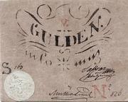 5 Gulden (Siege money, Arad) – avers