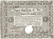 5 Gulden (Siege money, Temesvár) – avers