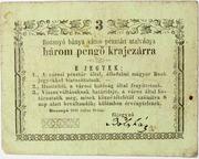 3 pengő Krajczár (Rozsnyó) – avers